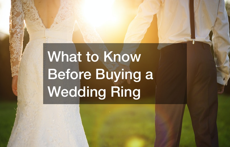 What to Know Before Buying a Wedding Ring